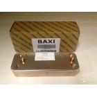 Теплообменник Baxi вторичный ГВС 14 пластин оригинал (5686680)