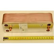 Вторичный теплообменник BAXI/WESTEN (20 пластин) оригинал 5689930