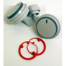 Ручки регулировки температуры отопления/ГВС Vaillant TEC, R1, Plus (3 шт). Art. 0020048969