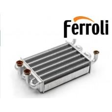 Теплообменник для Котлов Ferroli Domiproject C24D/F24D , Ferroli Domina C24N/F24N,Fereasy C24D/F24D